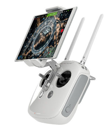 DJI Phantom 4 пульт управления с планшетом