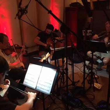 Zann recording session