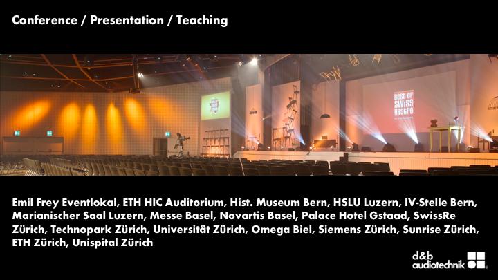 Konferenzen & Auditorien