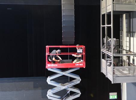 Neues Beschallungssystem der Extraklasse im Luzerner Saal des KKL Luzern