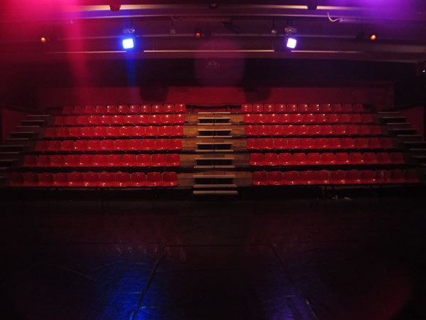 the theatre - view from the stage