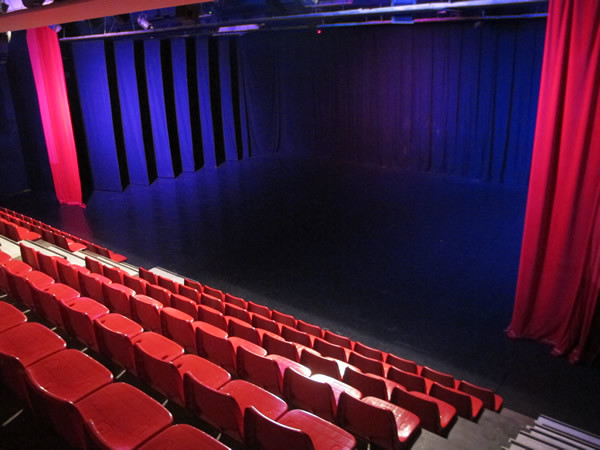 the theatre - view from the audience