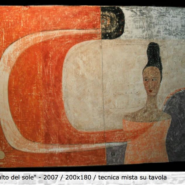 """""""Più in alto del sole"""", 2007"""