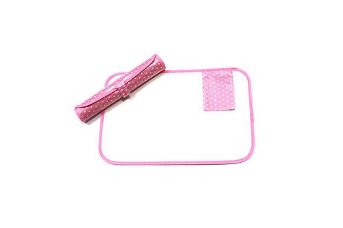 Keeping Bizzy - Pink Roll-Up Bizzy Mat, whiteboard mat, dry erase mat