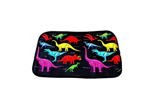 Dinosaur Roll-Up Bizzy Mat (flexible whiteboard!)