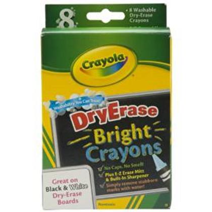 Crayola Dry-erase Bright Crayons