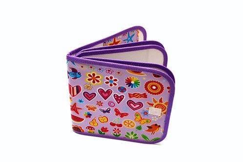 Dry-erase Bizzy Book - Bizzy Purple Design