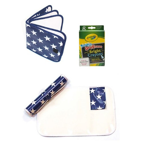 Bizzy Learner Set - Blue with white stars
