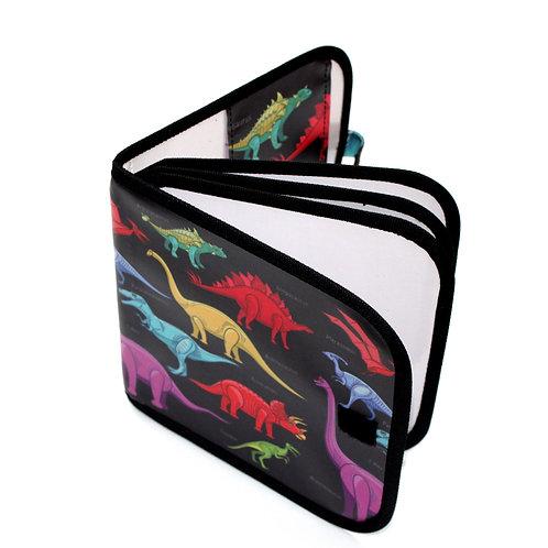 Dry-erase Bizzy Book - Dinosaur