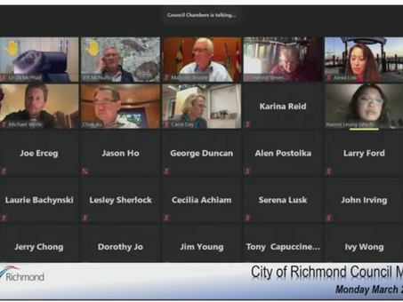 Racism tied to COVID-19: Richmond councillor