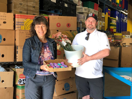Richmond Food Bank receives overwhelming support from the community (Feb 10, 2021)