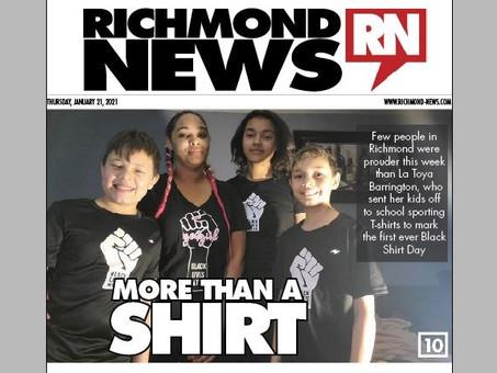 Letter: Richmond allies, please speak up (Feb 6, 2021)