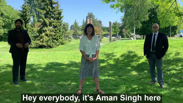 Video of support Aman Singh and Henry Yao