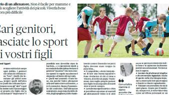 Cause ed effetti del coinvolgimento dei genitori nell'esperienza sportiva dei figli