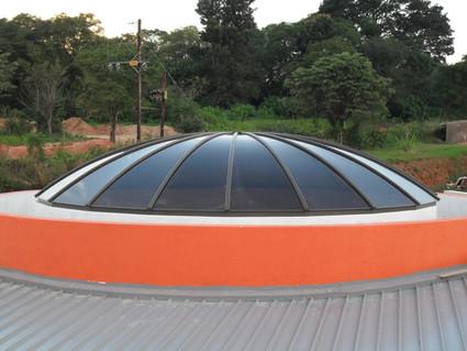 Round Segmented Dome - Bushbackridge Info Centre
