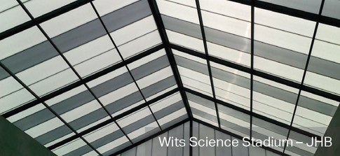 Ridge Pyramid with Vertical Gable Ends - Wits Science Stadium