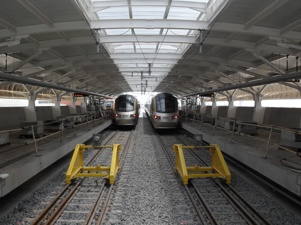 Vault with Vertical Sides - OR Thambo Gautrain