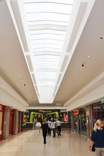 Ridge Pyramid with Vertical Gable Ends - Centurion Mall