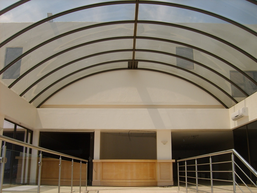 Low Rise Vault with Half Dome Gable End - Akeso Clinic Alberton