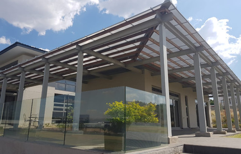 Sloped Canopy