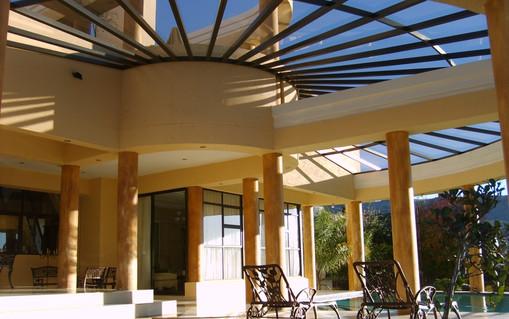 Sloped Glaze Canopy