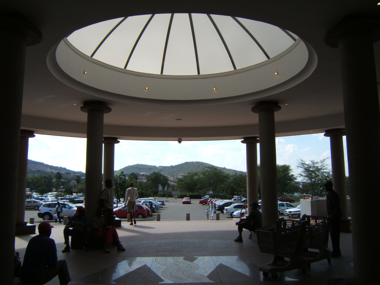 Round Segmented Dome - Waterfall Mall