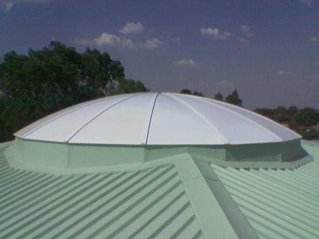 Round Segmented Dome