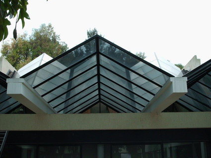 Ridge Pyramid with Vertical & Open Gable Ends