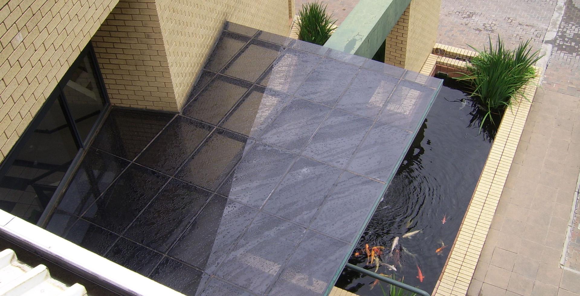 Slope Glazed Canopy