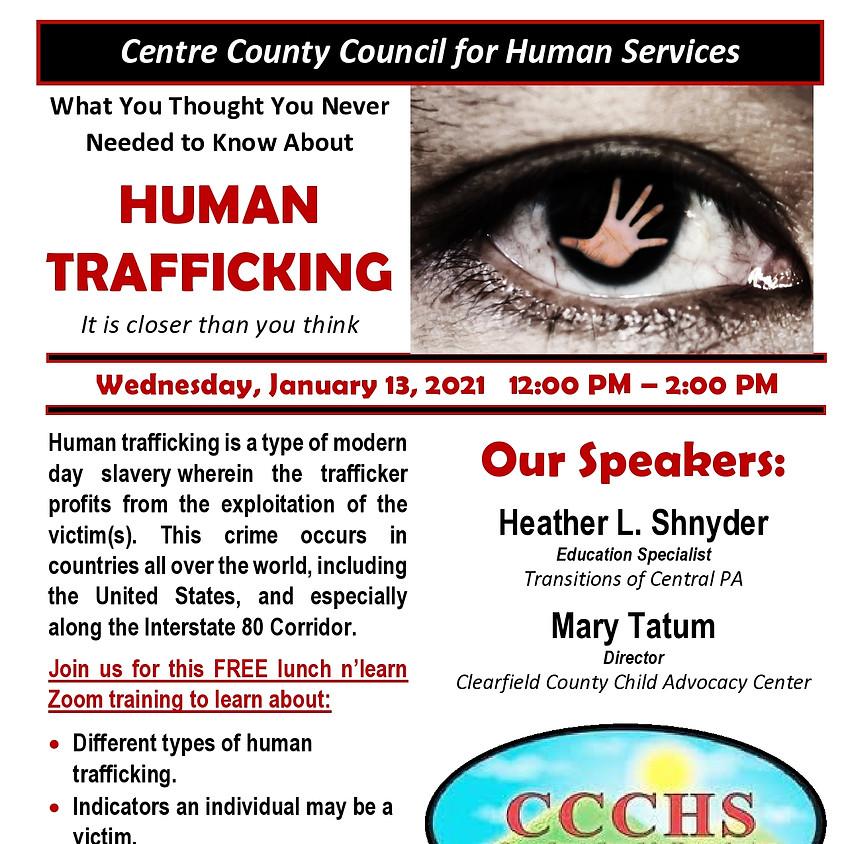 CCCHS Human Trafficking Training