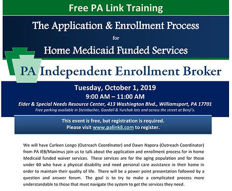 The Application & Enrollment Process for Home Medicaid Funded Services