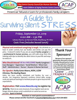 A Caregiver's Guide to Silent Stress