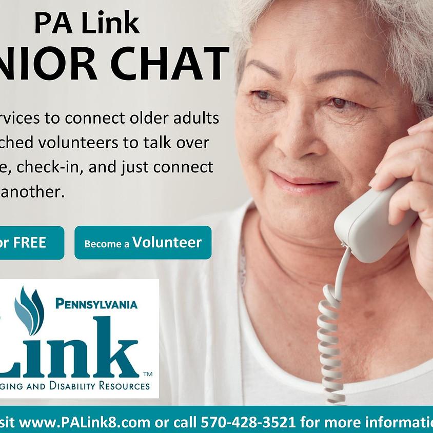PA Link Chatline Volunteer Orientation