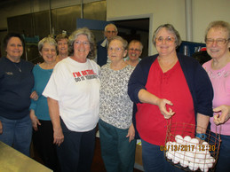 Penns Creek Senior Center helps out The Sportsmen's Club by decorating almost 1450 eggs for their egg hunt..JPG