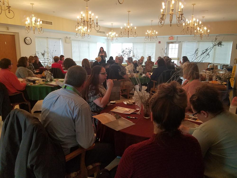 Partners at a PA Link Schuylkill Meeting at Seton Manor