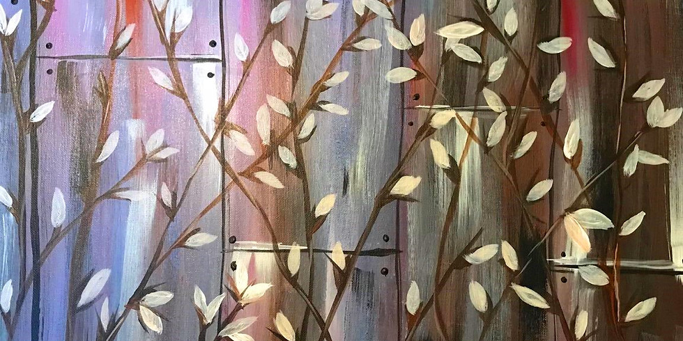 """""""SpringTime Fence"""" Painting Party with 2U (16 & up)"""