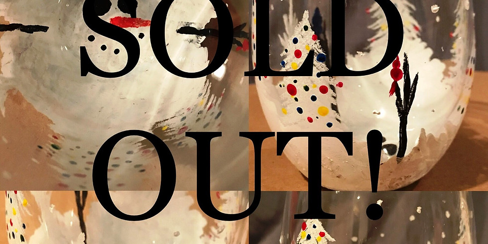 """Sold Out! """"Hidden Under the Snow"""" Painting Party with 2U (16 & up)"""