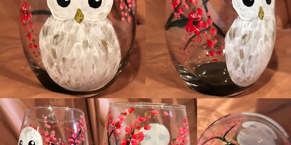 """SOLD OUT! """"Owl Drink to That"""" Painting Party with 2U"""