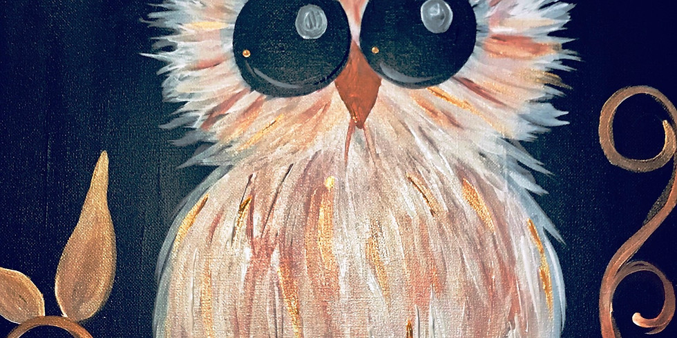 """""""Owl Need a Friend"""" Painting Party with 2U"""