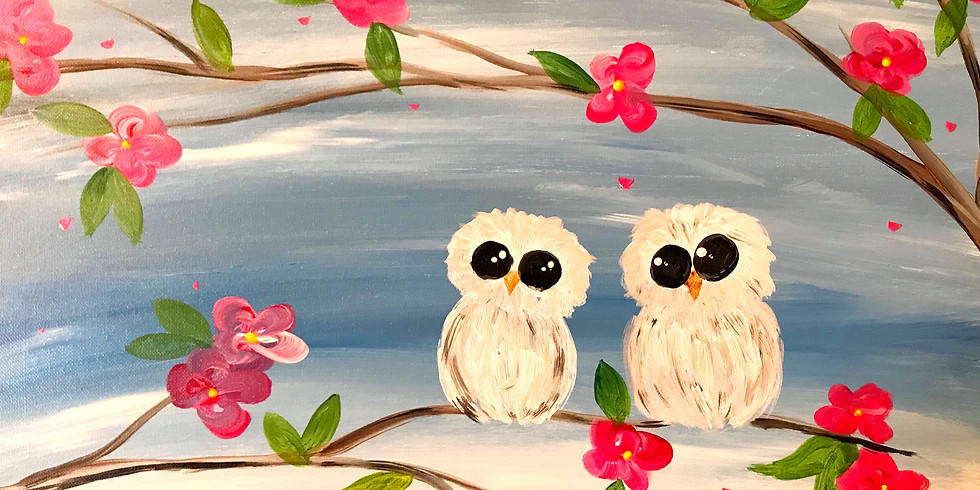 """""""Spring Fling"""" Canvas 2U Painting Party (13&up)"""