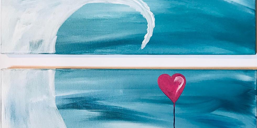 """Penguin Be UR Friend"" Parent and Me Painting Party (8 & up)"