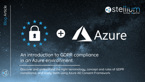 An Introduction to GDPR Compliance in an Azure environment