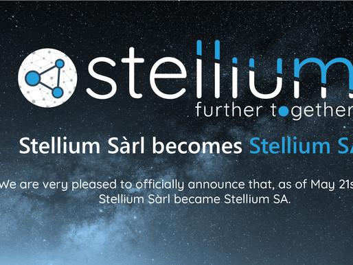 Stellium Sàrl becomes Stellium SA