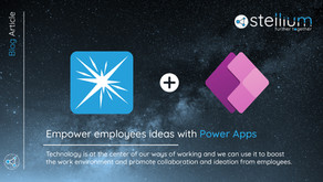Empower employees ideas with Power Apps!