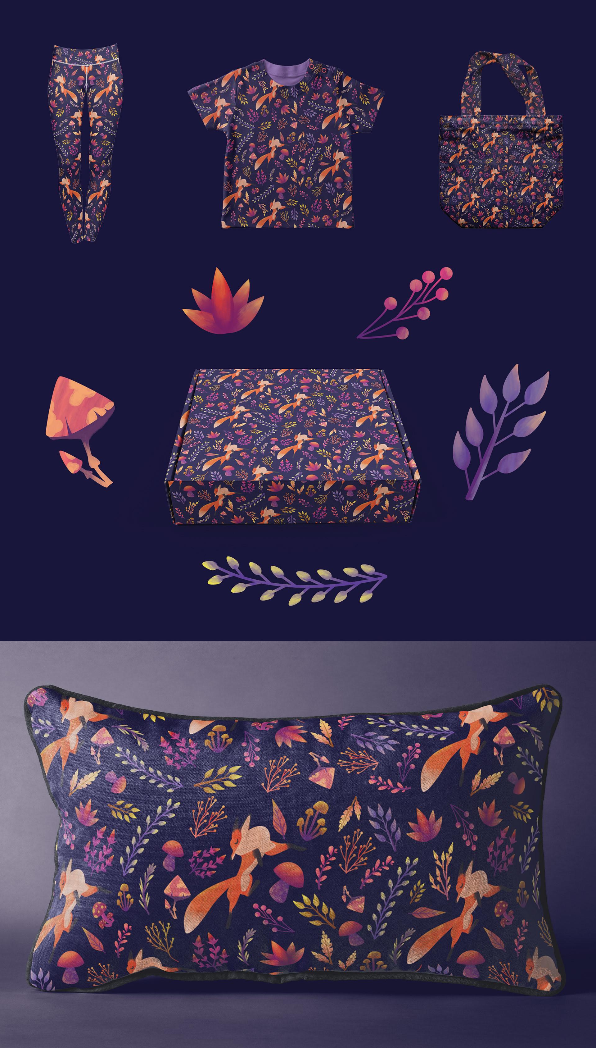 Fox Pattern Design