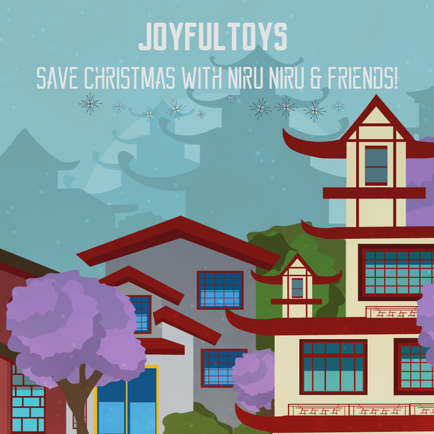 Save Christmas with Niru Niru & Friends