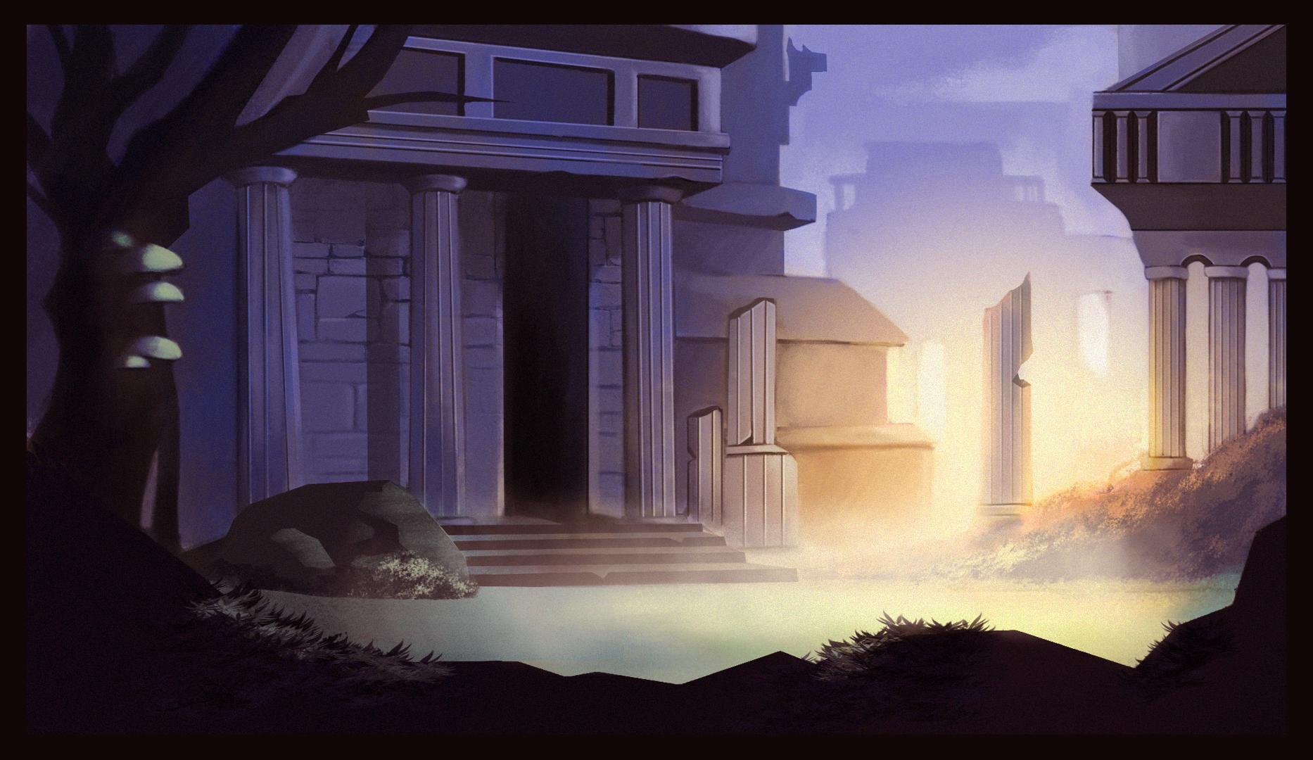 Purple Temple