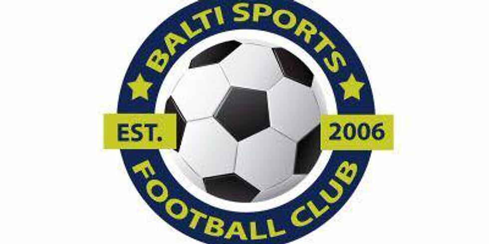 Friendly - (H) against Balti Sports