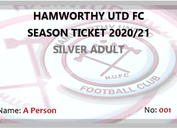 Silver Adult Season Ticket