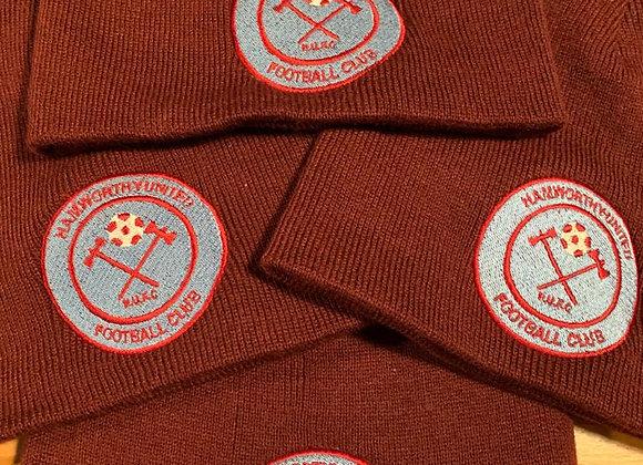 Hamworthy Utd FC Beanie Hat